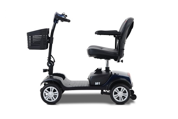 Metromibility Blue M1 Portal 4-Wheel Mobility Scooter