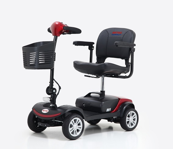 M1 Plus Portal 4-Wheel Mobility Scooter - Comfortable, Easy to Carry