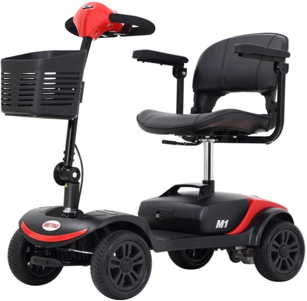 M1 Lite 4-Wheel Mobility Scooter for Sale by Metro Mobility USA